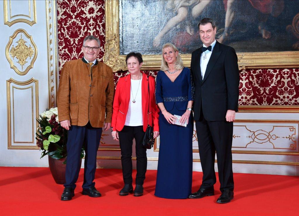 Ckb Vorsitzender Ossner Bei Neujahrsempfang Des Ministerprasidenten Cimbern Kuratorium Bayern E V